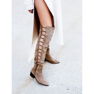 Free People Ladder Over The Knee Boot Size 6